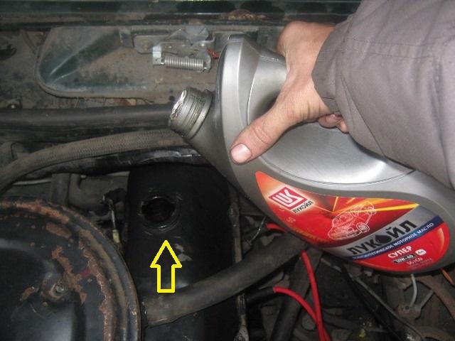 Как залить масло в редуктор ваз 2107 106
