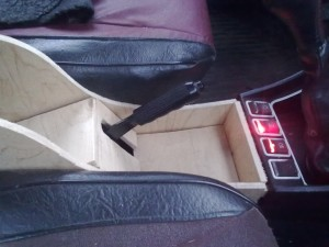 Подлокотник на ВАЗ-2107