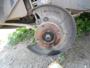 Заменить тормозные диски на ВАЗ-2114