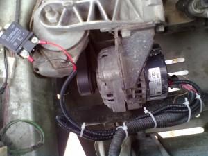 Трехуровневый регулятор напряжения для ВАЗ-2110