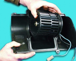 Поломка вентилятора печки ВАЗ-2110