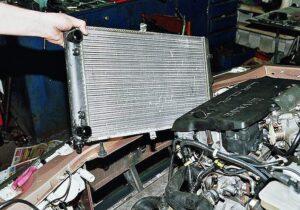 Радиатор охлаждения ваз 2110