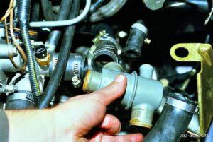 Замена термостата ВАЗ-2115