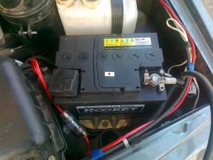 Аккумулятор на ВАЗ-2115