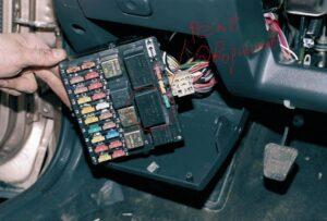Реле стартера на ВАЗ-2110