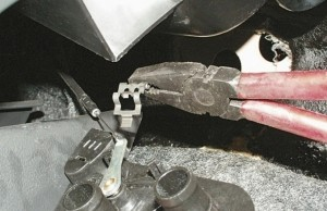 Замена крана отопителя ВАЗ-2115