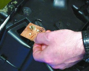 Резистор печки в автомобиле ВАЗ-2114