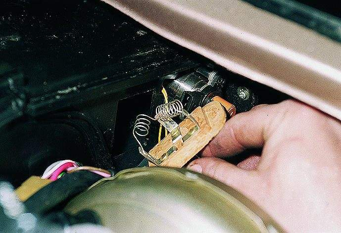резистор печки на ваз 2114 фото