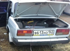 Открыть багажник ВАЗ-2107