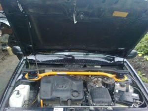 Открыть капот на ВАЗ-2114