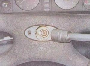 Снять руль на ВАЗ-2107