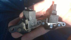Замена щеток генератора Приора