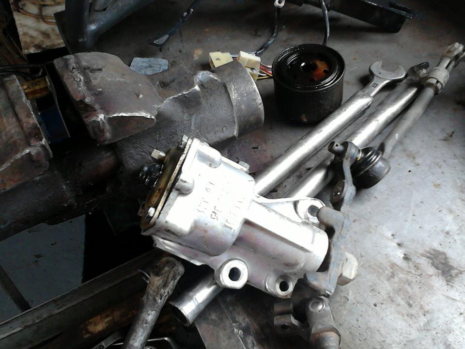 Как ремонтировать рулевую рейку на ваз 2107