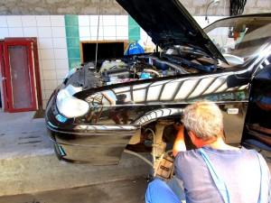 Подтянуть рулевую рейку на ВАЗ-2114