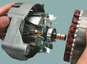 Генератор автомобиля ВАЗ-2114