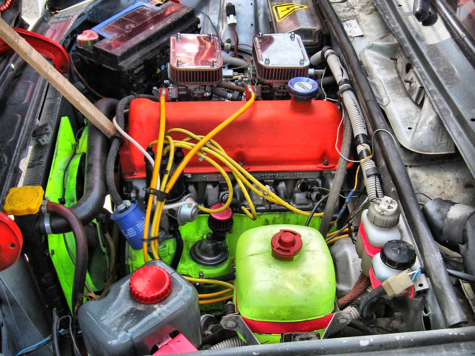 Мощность двигателя на ваз 2106