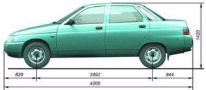 Вес у ВАЗ-2112