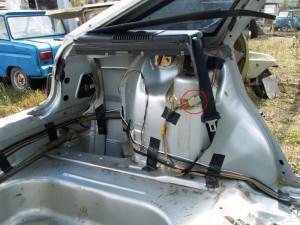 Обогрев заднего стекла на ВАЗ-2110