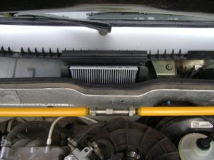 Замена салонного фильтра ВАЗ-2114