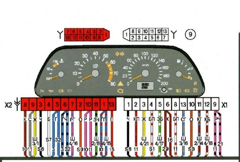 Ваз 2114 панель приборов инструкция