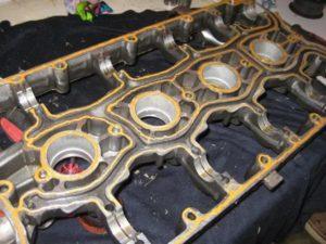 Снятие клапанов ВАЗ-2112 16 клапанов