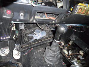 Замена моторчика печки ВАЗ-2107
