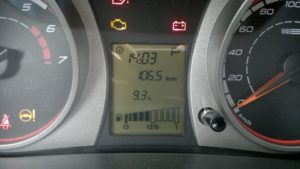 Расход топлива на Лада Приора на холостом ходу