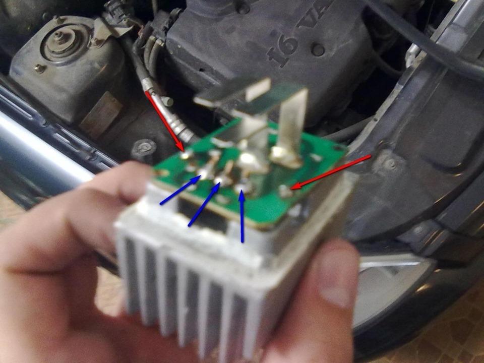Почему не срабатывает вентилятор на приоре