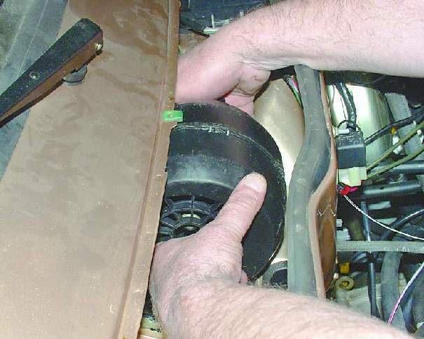 Замена вентилятора печка на ваз 2114