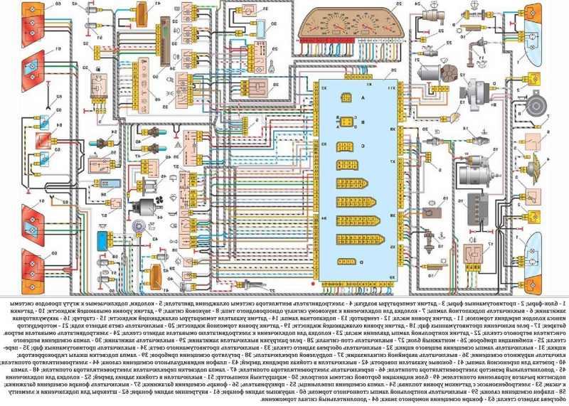 Схема электропроводки бензонасоса ваз 2115 9