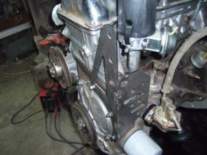 Перенос генератора наверх в Ниве ВАЗ-21213