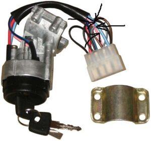 Схема замка зажигания ВАЗ-2109