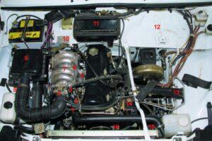 Электрическая схема ВАЗ 21214 Нива инжектор и фото