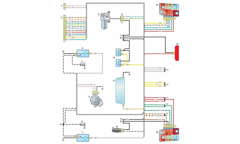 подключения вентилятора 2110 схема на