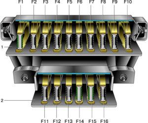 Электросхема ВАЗ 21213 Нива карбюратор с описанием