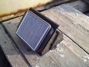 Установка и замена салонного фильтра ВАЗ-2109