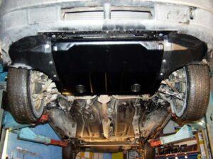 Какая лучше и установка защиты двигателя Лада Приора