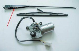 Проверка и снятие моторчика дворников ВАЗ-2109
