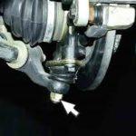 Как делается замена шаровой опоры ВАЗ-2110