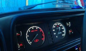 Тюнинг панели приборов ВАЗ-2107