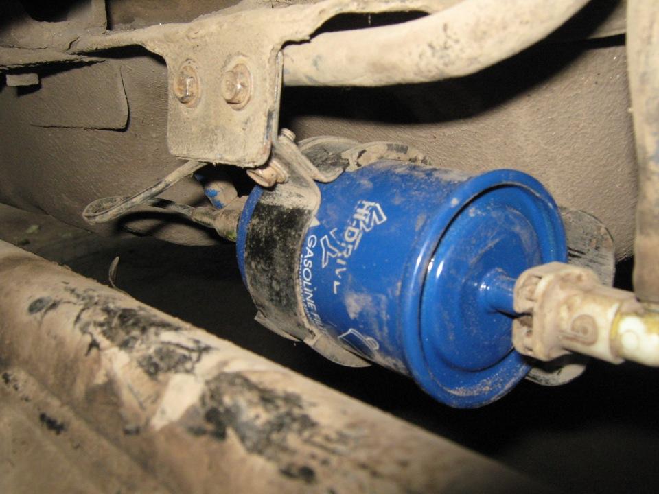 Шевроле нива замена топливного фильтра