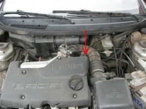 Пошаговая замена датчика скорости ВАЗ-2110 на 8 и 16 клапанов