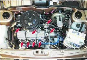 Перегрев двигателя на ВАЗ-2109