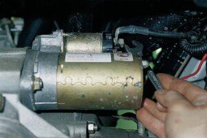 подключение стартера на ВАЗ-2110