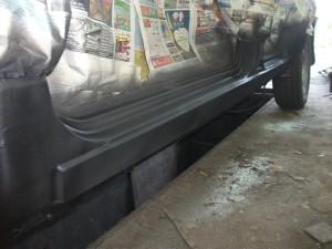 kak zamenit porogi avtomobilya vaz 21091 300x225 - Замена порогов ваз 2109 советы профи