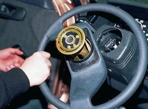 Снять руль в ВАЗ-2110