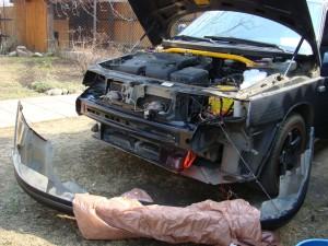 Снять передний бампер на ВАЗ-2110