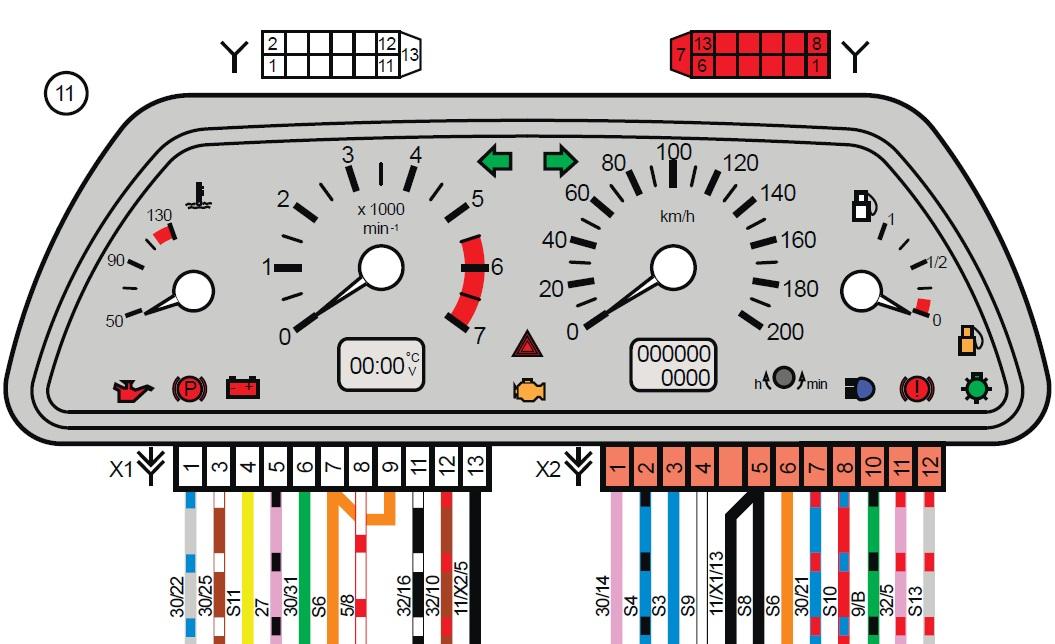 Ваз 2112 схема панели приборов фото 330