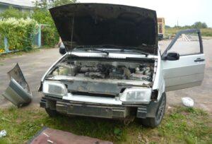 Замена переднего бампера ВАЗ-2115