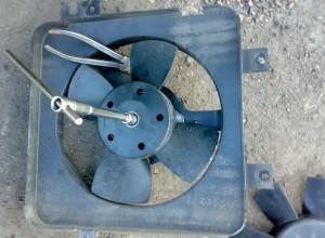 Вентилятор охлаждения ВАЗ-2110